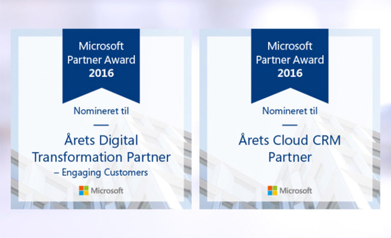 AlfaPeople nominated for Cloud CRM Partner of the Year in Denmark