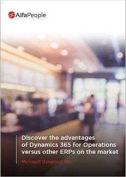 Discover The Advantages of Dynamics 365 for Finance and Operations Versus Other ERPs Whitepaper's Cover