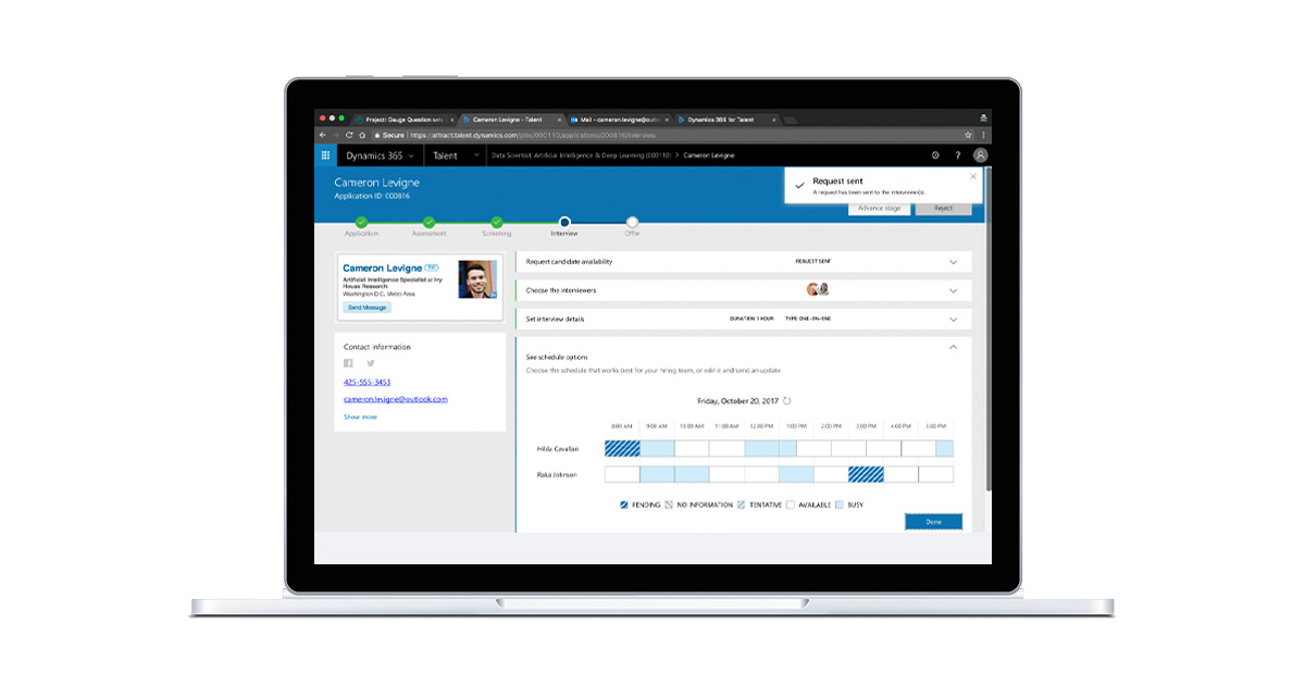 Microsoft Dynamics 365 Human Resources Overview